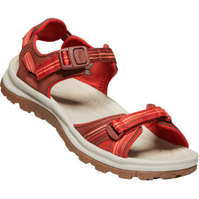 Keen Terradora II Open Toe Sandalen Damen dark red/coral